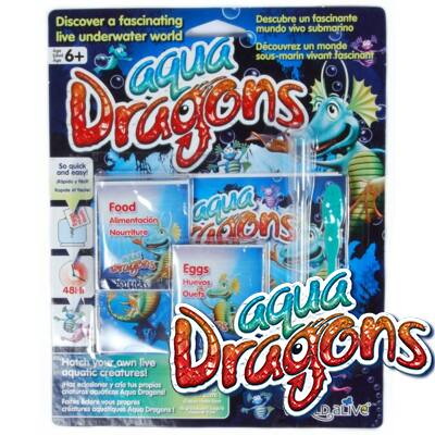 World Alive Aqua Dragons Él?lények -pete eledel