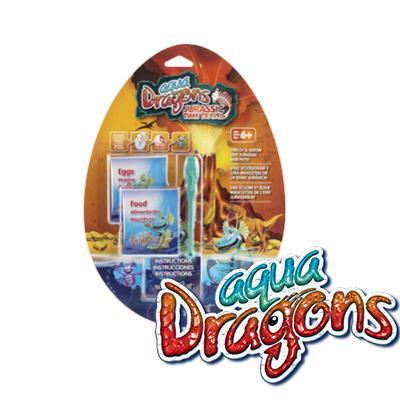 World Alive Jurassic Aqua Dragons  Él?lények - pete eledel